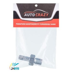 PARAFUSO ADAPTADOR DRILL P/ FURADEIRA 14MM - AUTO CRAZY