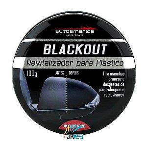 BLACKOUT - REVITALIZADOR DE PLÁSTICOS EXTERNOS 100G - AUTOAMERICA