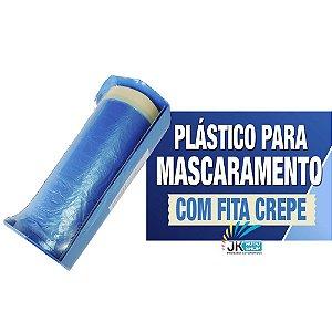 PLASTICO PARA MASCARAMENTO C/ FITA CREPE COM DESBUBINADOR - SHERWIN WILLIAMS