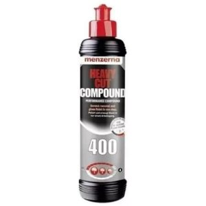 HEAVY CUT 400 COMPOUND COMPOSTO POLIDOR CORTE 250ML – MENZERNA