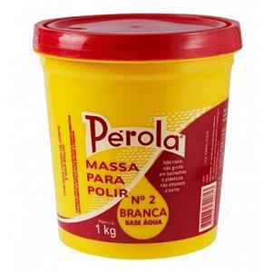 MASSA PARA POLIR BASE D'ÁGUA Nº2 1KG – PÉROLA