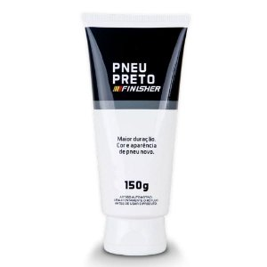 PNEU PRETO GEL DE PNEU 150G – FINISHER