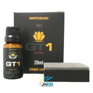 GT1 CERAMIC 20ML 5H – NANO REVESTIMENTO – PINTURA AUTOMOTIVA