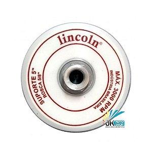 PRATO/DISCO SUPORTE 5″ 5/8 SUPER VELCRO – LINCOLN
