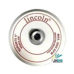 PRATO/DISCO SUPORTE 6″ 5/8 SUPER VELCRO – LINCOLN