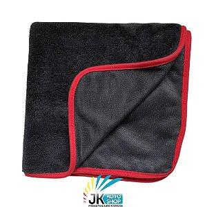 TOALHA DE SECAGEM BLACK TWIST TOWEL 600GSM (50cmX80cm) - AUTO CRAZY