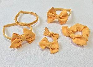 Coleção Linho Rústico - Amarelo