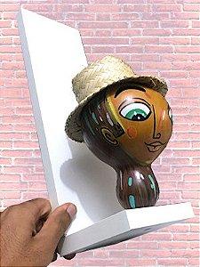 Escultura Cabeça - cabaça