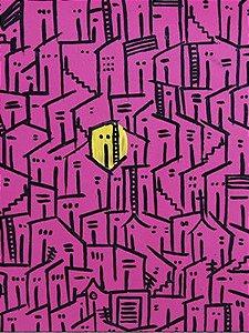 A casa amarela - MDF