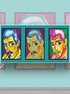 Tríptico Freddie Mercury