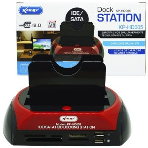 DOCKSTATION KNUP KP-HD005
