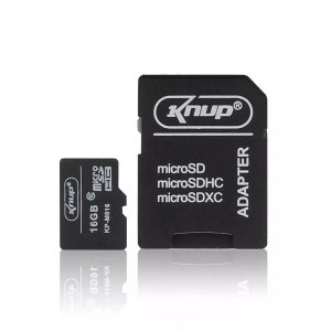 CARTÃO MICRO SD CLASSE 10 16 GB KNUP KP-MO16