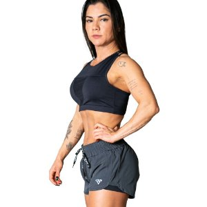 WOMAN SHORTS VELOCITY NPND GRAY