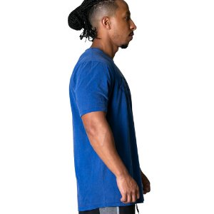 TSHIRT NPND SCRATCHES BLUE