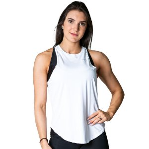 TANK TOP NPND FLOW WHITE /BLACK