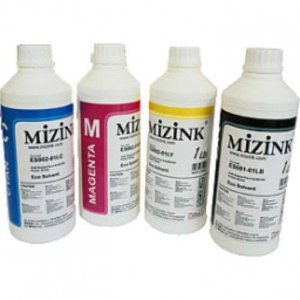 4 X 100ML DE TINTA SUBLIMÁTICA MIZINK PARA TRANSFER + PAPEL