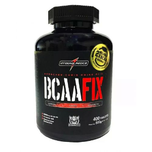 BCAA FIX - DARKNESS 400 TABLETES - INTEGRALMEDICA