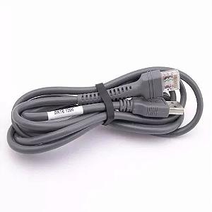 CABO USB PARA LEITOR SYMBOL LS2208/LS7708/LS9208/LS
