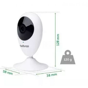 CÂMERA INTELBRAS MIBO WIFI HD 720P IC3 MICRO-SD