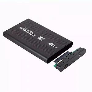 CASE GAVETA HD SATA EXTERNO 2.5 USB NOTEBOOK