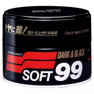 Cera de Carnaúba Premium - 300g Soft99 Dark & Black Paste