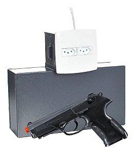 Cofre Tomada Secreto P/ Arma Ligação Funcional 3a