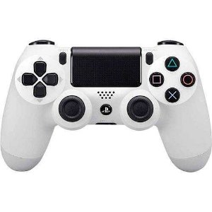 CONTROLE PS4 ORIGINAL PLAYSTATION DUALSHOCK 4 BRANCO WIRELES