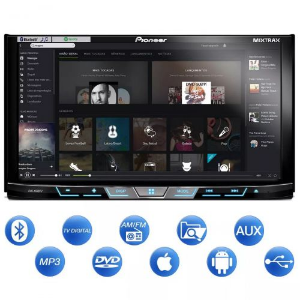 DVD 2 DIN PIONEER AVH-X598TV 7 BLUETOOTH TV DIGITAL USB AUX