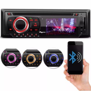 DVD PARA CARRO TOCA CD MP3 USB SD BLUETOOTH SIMILAR H-BUSTER