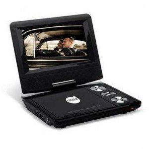 DVD PLAYER PORTATIL 6513-0 TELA 7 POLEGADAS DAZZ