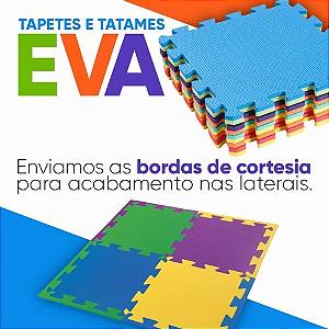EVA TATAME TAPETE TATAME INFANTIL EMBORRACHADO 50X50CM