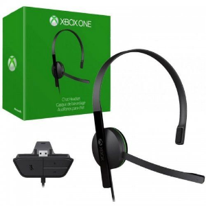 HEADSET XBOX ONE ORIGINAL CHAT, FONE XBOX ONE MICROSOFT S5V-00002