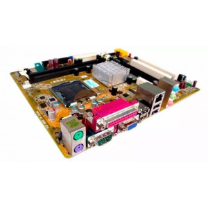 KIT INTEL LGA 775 -C2D E8400 + PLACA MÃE + COOLER + 2GB DDR2