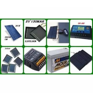 KIT PAINEL PLACA CONTROLADOR SOLAR FOTOVOLTAICA 150W WATTS