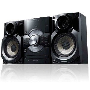 MINI SYSTEM PANASONIC SC-AKX80LB-K COM MP3 E ENTRADA USB 300 W