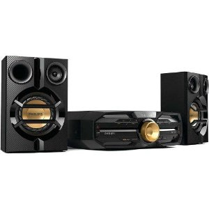 MINI SYSTEM SONY MHC-V3 600W USB, NFC, BLUETOOTH E FUNÇÃO DJ EFFECT