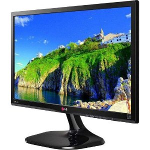 "MONITOR LED 23"" LG 23MP55HQ COM PAINEL IPS FULL HD"