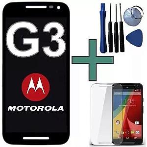 MOTO G3 DISPLAY TELA TOUCH + FERRAMENTA + PELICULA