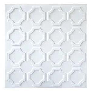 PLACA DE PVC 3D REVESTIMENTO 50CM X 50CM