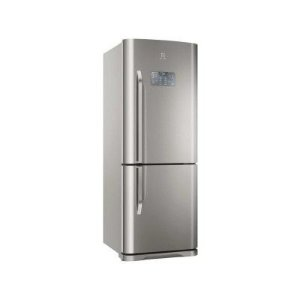 REFRIGERADOR ELECTROLUX BOTTOM DB53X FROST FREE COM PAINEL BLUE TOUCH 454L - INOX - 220v