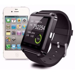 RELÓGIO SMARTWATCH U8 BLUETOOTH PARA CELULAR IPHONE ANDROID