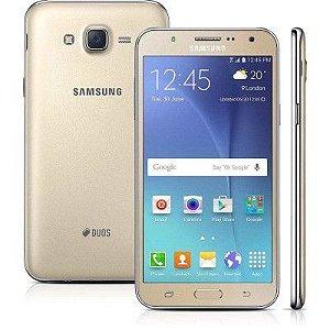 SMARTPHONE SAMSUNG GALAXY J5 SM-J500M/DS DOURADO DUAL CHIP ANDROID 5.1 LOLLIPOP 4G WI-FI 16GB