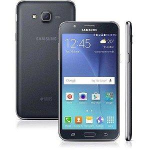 SMARTPHONE SAMSUNG GALAXY J7 DUOS J700M/DS PRETO DUAL CHIP ANDROID 5.1 4G WI-FI PROCESSADOR OCTA-CORE 1.5 GHZ CÂMERA 13MP