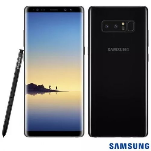 SMARTPHONE SAMSUNG GALAXY NOTE 8 PRETO 128GB