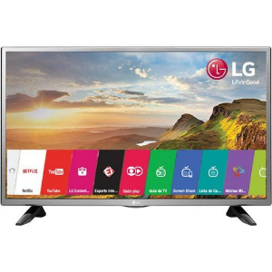 "SMART TV LED 32"" LG 32LH570B COM CONVERSOR DIGITAL 2 HDMI 1 USB WI-FI INTEGRADO PAINEL IPS"