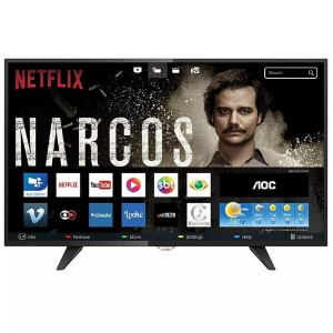 SMART TV LED 39 POLEGADAS AOC WIFI HD USB HDMI LE39S5970