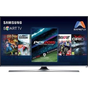 "SMART TV LED 48"" SAMSUNG 48J5500 FULL HD COM CONVERSOR DIGITAL 3 HDMI 2 USB WI-FI INTEGRADO FUNÇÃO GAME"