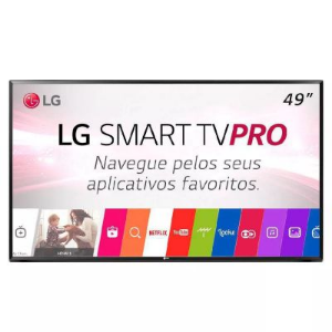 SMART TV LED 49 POLEGADAS LG 49LJ551C FULL HD 2 HDMI WIFI US