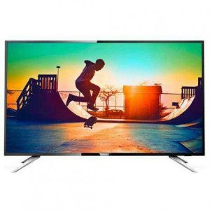 "SMART TV LED 50"" PHILIPS 50PUG6102/78 4K ULTRA HD COM WI-FI 4 HDMI 2 USB - AOC"