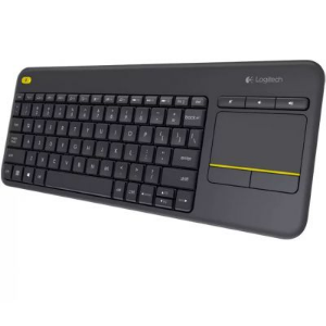 TECLADO WIRELESS LOGITECH K400 PLUS TOUCHPAD